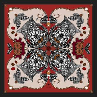 Emily Carter - The Owl & Pocket Watch Scarf