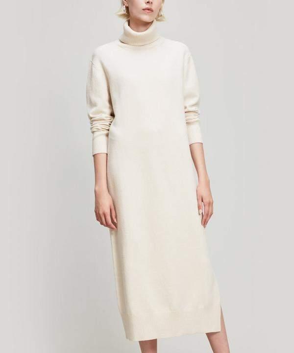 Sally Wool-Blend Dress