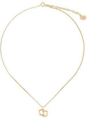Christian Dior PRE-OWNED logo necklace