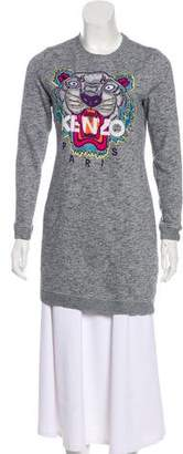 Kenzo Knit Embroidered Sweater
