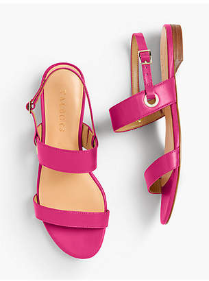 Talbots Keri Double Strap Sandals - Solid