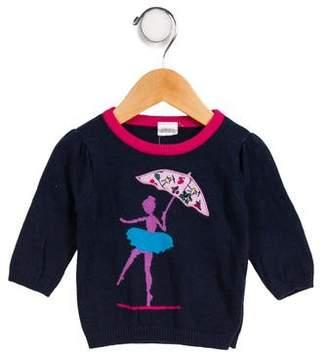 Egg Girls' Intarsia Sweater
