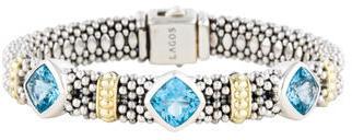 Lagos Topaz Caviar Bracelet $795 thestylecure.com
