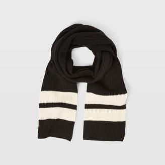 Club Monaco Wool Sport Stripe Scarf