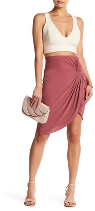 Socialite Side Knot Bodycon Skirt $45 thestylecure.com