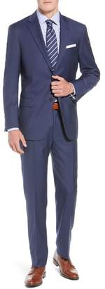 Hart Schaffner Marx New York Classic Fit Check Wool Suit