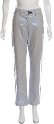 Misbhv Metallic High-Rise Pants