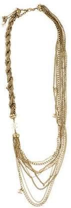 Chanel Logo Multistrand Necklace