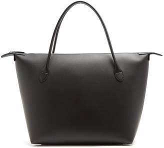 The Row Lux leather tote