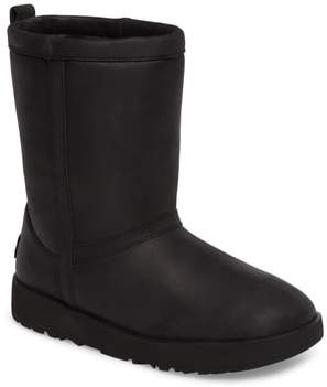 UGG Classic Genuine Shearling Lined Short Waterproof Boot