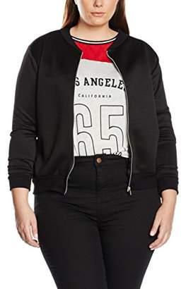 boohoo Plus Women's Shannon Squad Bomber Jacket