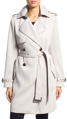 Vera Wang 'Valencia' Trench Coat $350 thestylecure.com
