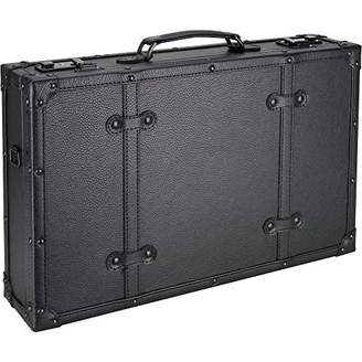 ae7c67dfebbb ... Amazon.com · JustCase C4104 Barber Stylist Lock Attached Carrying  Portable Travel Case Organizer Storage Display