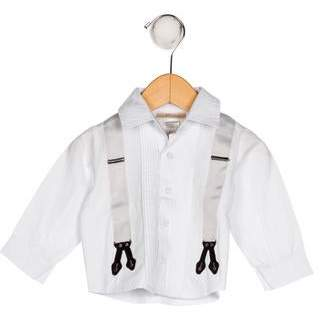 Miniclasix Boys' Collar Button-Up Shirt