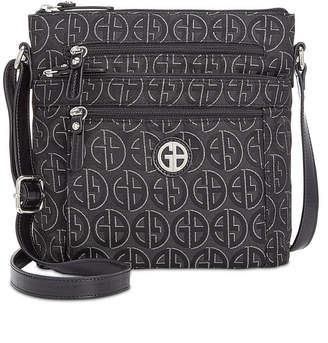 Giani Bernini Circle Signature Lurex Crossbody