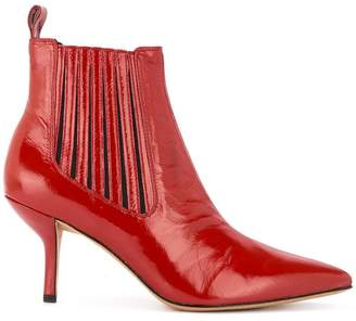 Diane von Furstenberg Mollo low-heel booties
