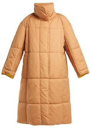 Roksanda Maera Quilted Cotton Coat - Womens - Beige