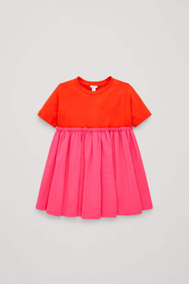 Cos GATHERED T-SHIRT DRESS