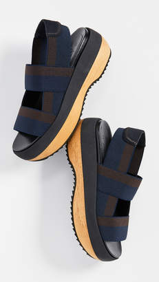 7b6467cce5cd Marni Black Women s Sandals - ShopStyle