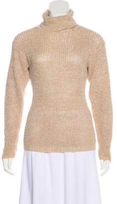 Ellen Tracy Metallic Turtleneck Sweater