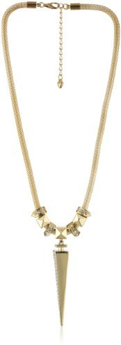 Belle Noel Glam Rock Necklace with Dagger Pendant