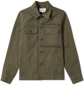 Maison Margiela 14 Distressed Shirt Jacket