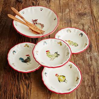 Sur La Table Jacques Pepin Collection Chicken Pasta Serving Bowl
