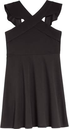 Love, Nickie Lew Ruffle Fit & Flare Dress