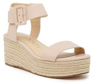 Sole Society Annette Flatform Ankle Strap Espadrille