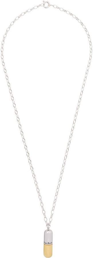 True Rocks Pill pendant necklace