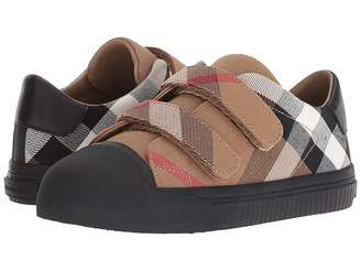 Burberry Belside Check Trainer (Toddler/Little Kid)
