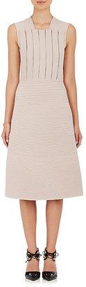 Giorgio Armani Women's Pleated Knit Sheath Dress-PINK $1,599 thestylecure.com
