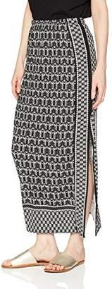 Max Studio Women's Maxi Side Slit Skirt