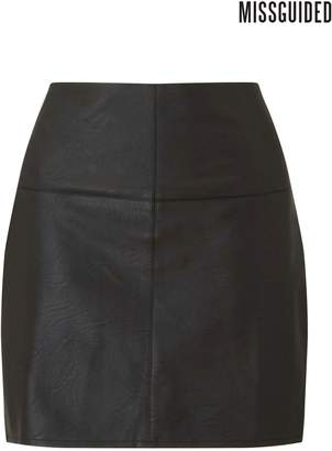 Next Womens Missguided Faux Leather Mini Skirt