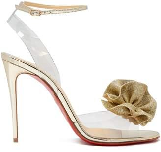 Christian Louboutin Fossiliza flower-embellished sandals