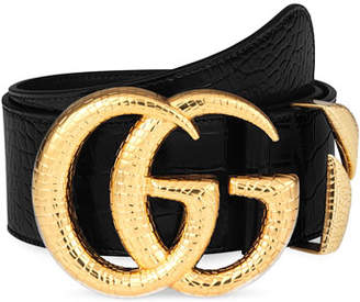 31c4fd46c Gucci Double Buckle Women's Belts - ShopStyle