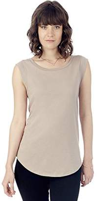 Alternative Women's Cap-Sleeve Crew T-Shirt