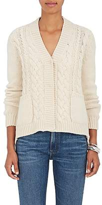 Barneys New York Women's Mixed-Stitch Cashmere Cardigan