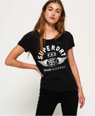 Superdry 1954 Brand Goods Slim Boyfriend T-shirt
