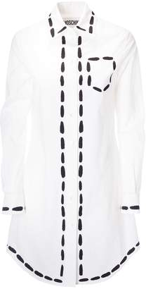 Moschino Dotted Line Shirt Dress