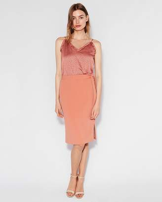Express Ruffle Double Layer Downtown Cami