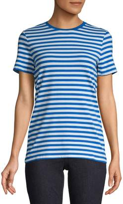 Lord & Taylor Striped Short-Sleeve Tee