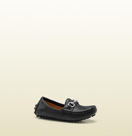 Gucci Toddler Horsebit Driving Shoe