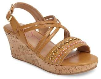 Jessica Simpson Fallon Wedge Sandal (Toddler, Little Kid, & Big Kid)