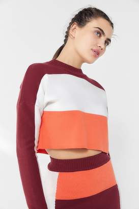 Urban Outfitters Asa Colorblock Cropped Top