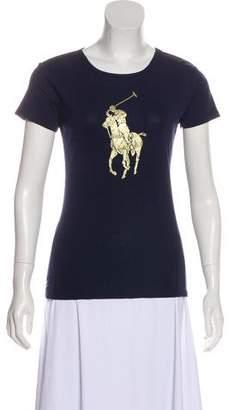 Ralph Lauren Metallic Printed T-Shirt