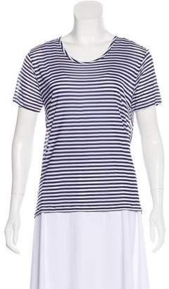 J Brand Striped Crew Neck T-Shirt