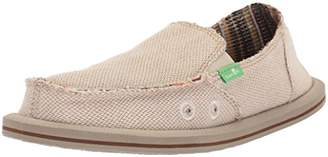 Sanuk Girls' Lil Donna Hemp Loafer