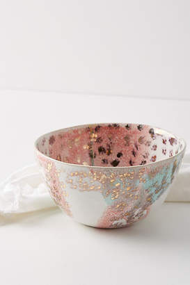 Anthropologie Gold Accent Bowl