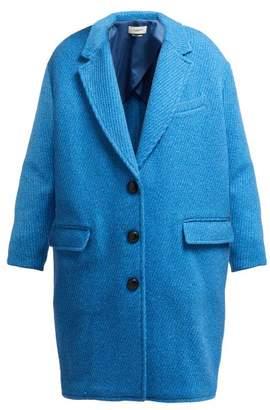 Isabel Marant Ãtoile Atoile - Gimi Oversized Wool Blend Coat - Womens - Blue